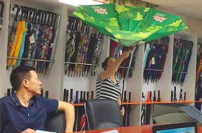 永诚信高尔夫雨伞品质好,交期快