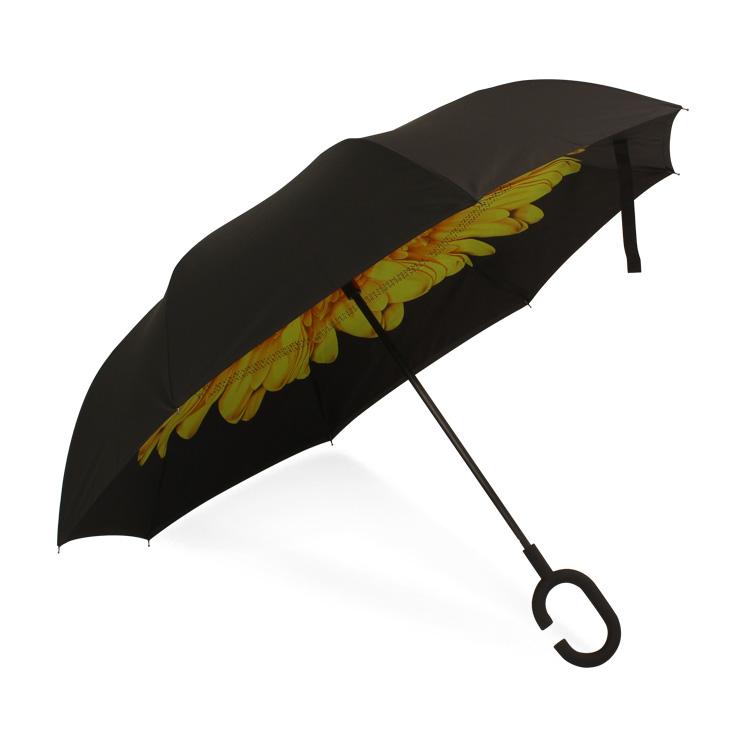 高端全纤维双层反向伞