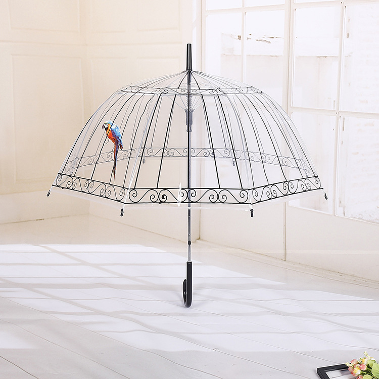 透明PVC直杆伞