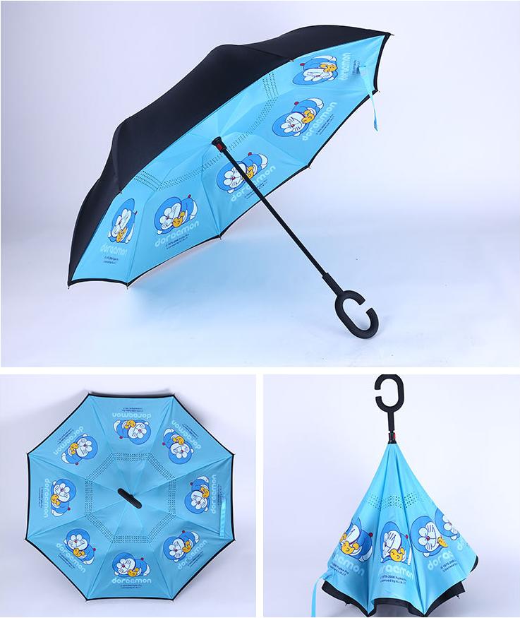 多种花色满版印反向伞
